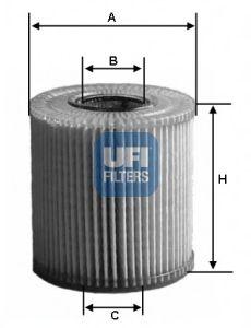 Масляный фильтр UFI 25.067.00