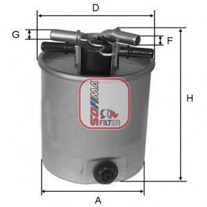 Топливный фильтр SOFIMA S 4026 NR
