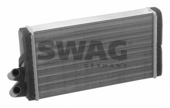 Радиатор отопителя SWAG 30 91 1090