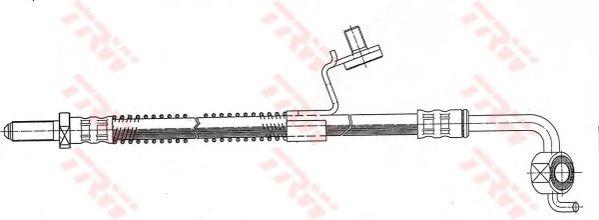 Тормозной шланг TRW PHD344
