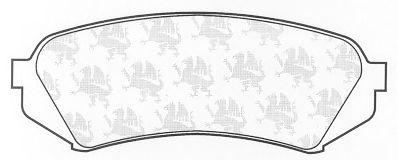 Тормозные колодки QH International BP1193