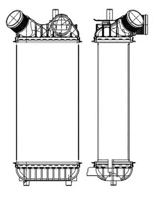 Интеркулер NRF 30324