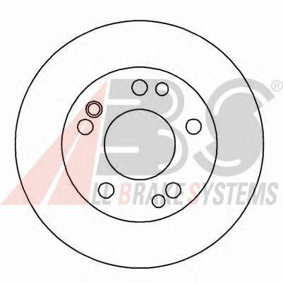 Тормозной диск A.B.S. 15778