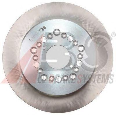 Тормозной диск A.B.S. 17215