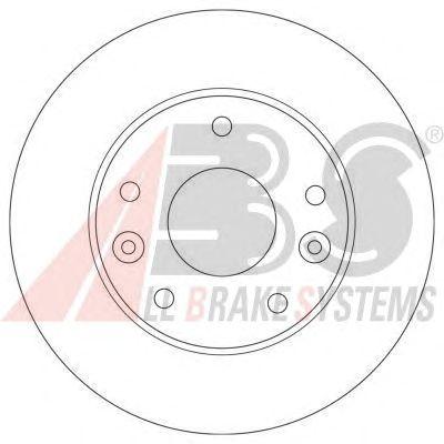 Тормозной диск A.B.S. 17519