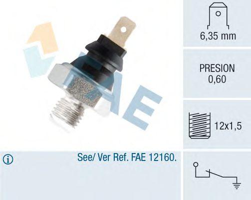 Датчик давления масла FAE 11650