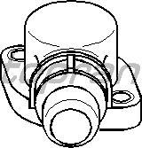 Фланец охлаждающей жидкости TOPRAN 111 226