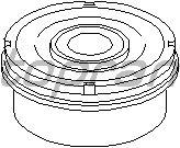 Сайлентблок рычага TOPRAN 110 840