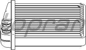 Радиатор отопителя TOPRAN 112 416