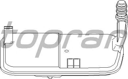 Фильтр АКПП TOPRAN 501 160