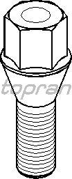 Болт для крепления колеса TOPRAN 201 852