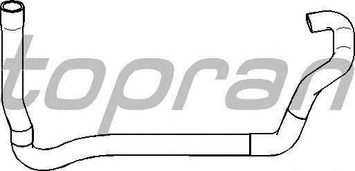 Шланг радиатора TOPRAN 721 432