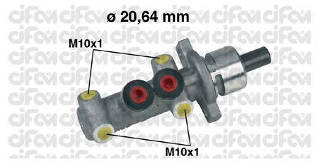 Главный тормозной цилиндр CIFAM 202-245