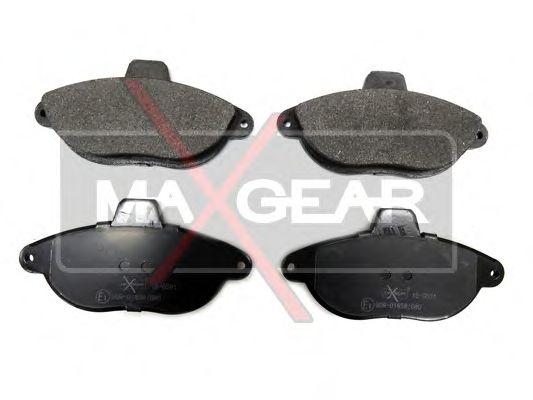 Тормозные колодки MAXGEAR 19-0591