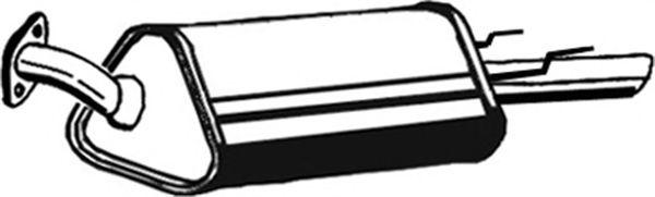 Глушитель ASMET 05.124