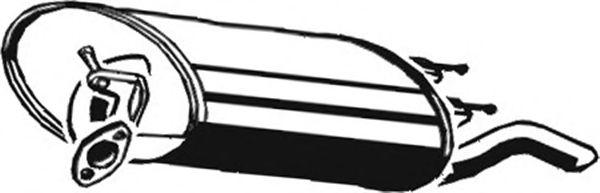 Глушитель ASMET 20.015