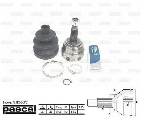 Комплект ШРУСов PASCAL G1R006PC
