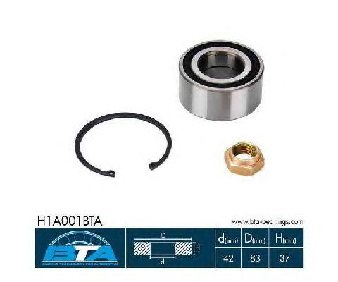 Ступичный подшипник BTA H1A001BTA