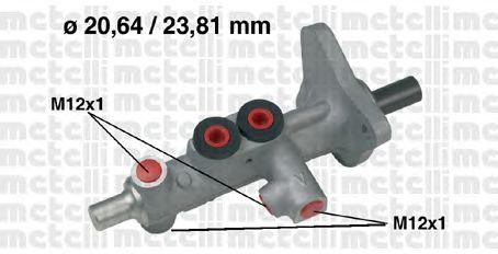 Главный тормозной цилиндр METELLI 05-0627