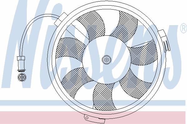 Вентилятор охлаждения NISSENS 85546