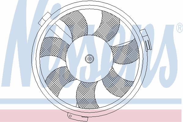 Вентилятор охлаждения NISSENS 85547