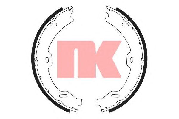 Тормозные колодки ручника NK 2733765