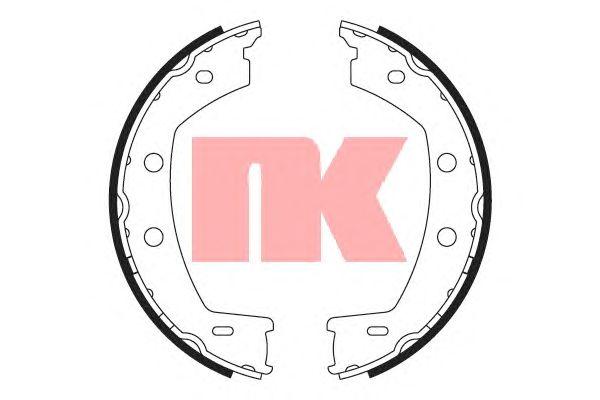 Тормозные колодки ручника NK 2740768