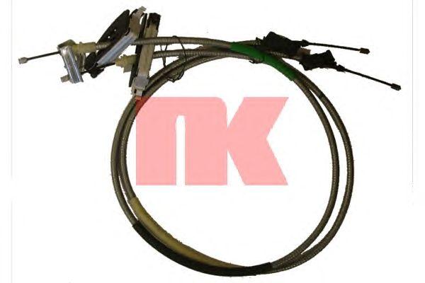Трос ручника NK 9025139