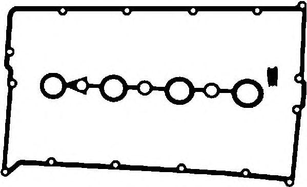 Комплект прокладок клапанной крышки AJUSA 56002200