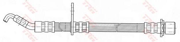 Тормозной шланг TRW PHD432