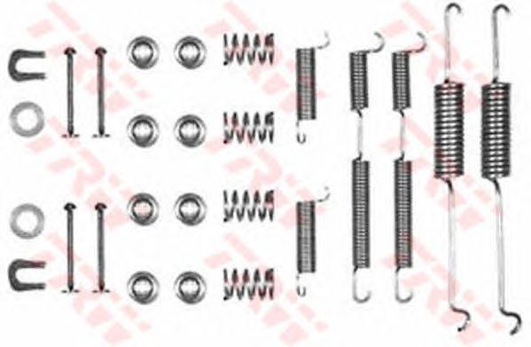 Монтажный комплект тормозных колодок TRW SFK11