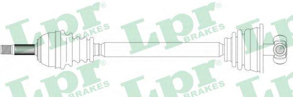 Приводной вал LPR DS39097