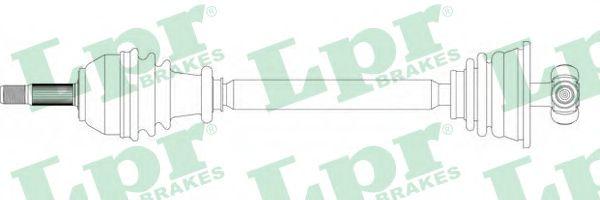 Приводной вал LPR DS39132