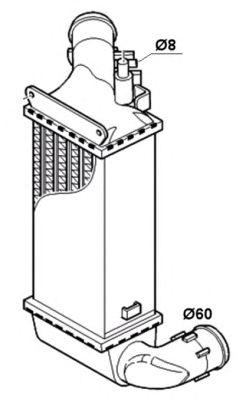 Интеркулер NRF 30835