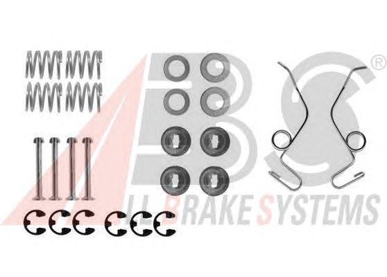 Монтажный комплект тормозных колодок A.B.S. 0625Q