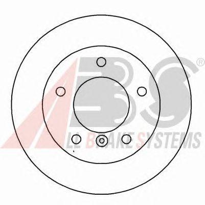 Тормозной диск A.B.S. 15782