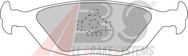 Тормозные колодки A.B.S. 36489/1