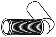 Гофра выпускной системы DINEX 48189