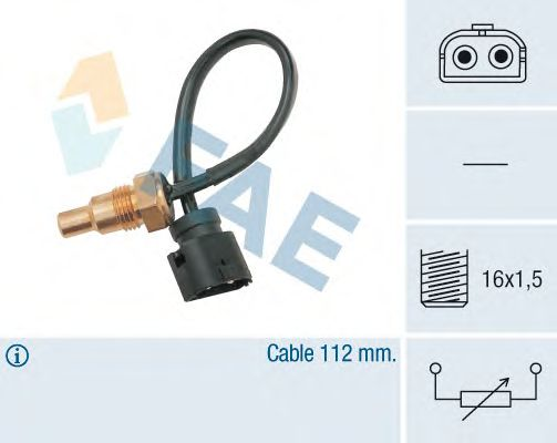 Датчик температуры охлаждающей  жидкости FAE 32410