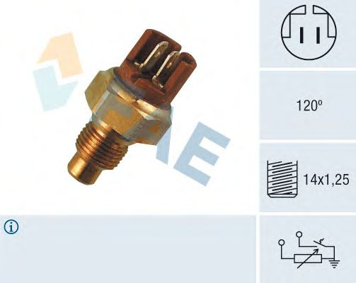 Датчик температуры охлаждающей  жидкости FAE 34130
