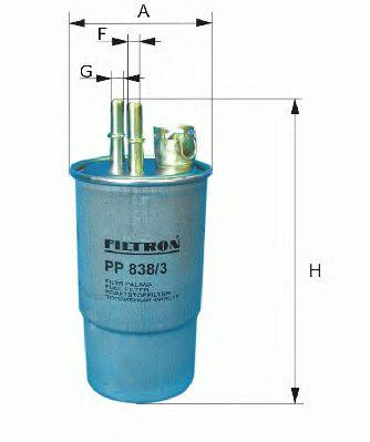 Топливный фильтр FILTRON PP988