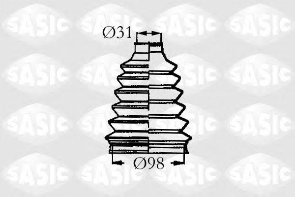 Комплект пыльника ШРУСа SASIC 4003466