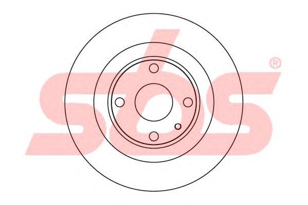 Тормозной диск sbs 1815203248