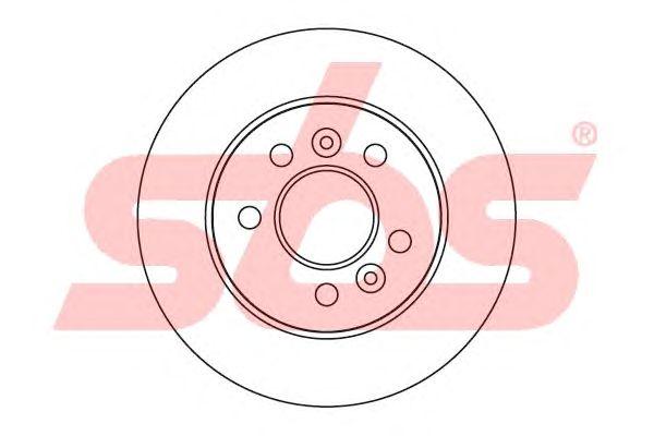 Тормозной диск sbs 1815203929