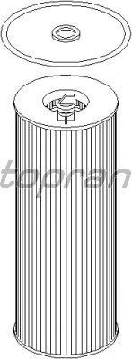 Масляный фильтр TOPRAN 501 662