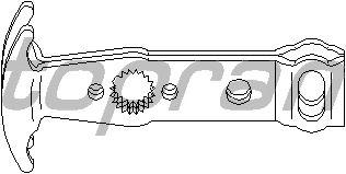 Ремкомплект кулисы TOPRAN 111 565