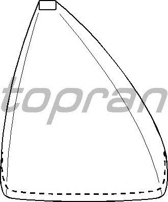 Обшивка рычага переключения TOPRAN 107 323