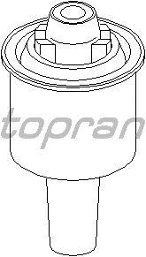 Сайлентблок рычага TOPRAN 401 691