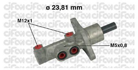 Главный тормозной цилиндр CIFAM 202-475