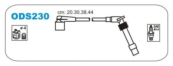 Комплект высоковольтных проводов JANMOR ODS230